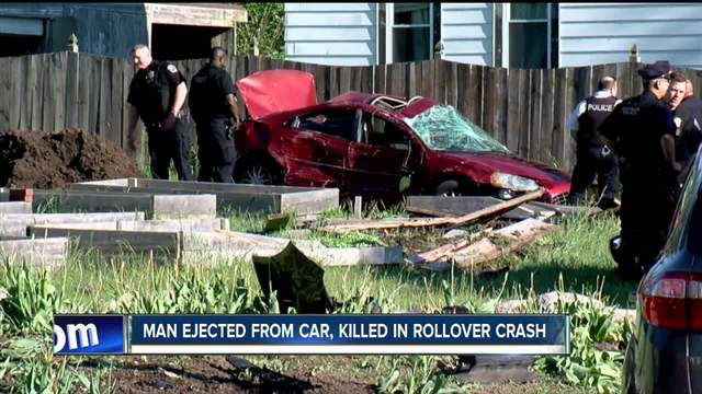 Driver killed in rollover crash on Memorial Day