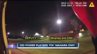 Was Niagara County DWI