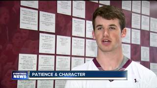 St. Joe's Lalley a leader on and off the turf