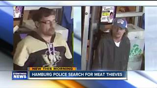 Police want to talk to men about stolen steaks