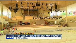 Chautauqua set to open new amphitheater