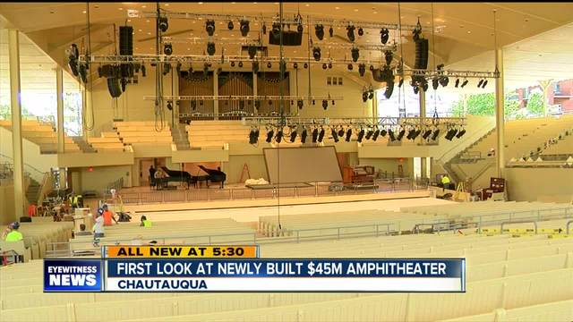 Chautauqua set to open new -45 million amphitheater