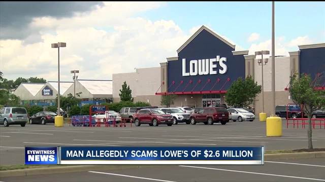 Man allegedly scams Lowe-s of -2-6 million using 173 fraudulent accounts