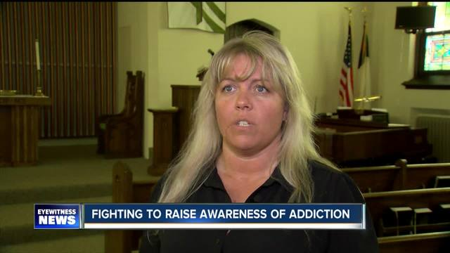 5pm- Mother fights for addiction awareness