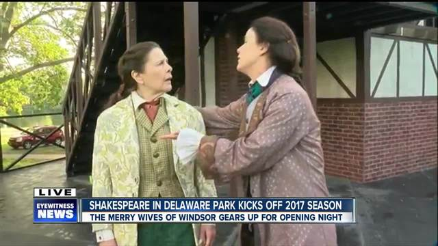 The Merry Wives of Windsor kicks off opening night at Delaware Park