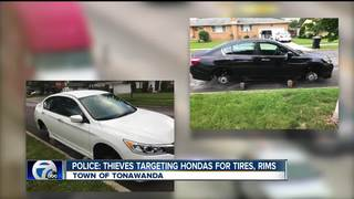 Police: thieves targeting Hondas for tires