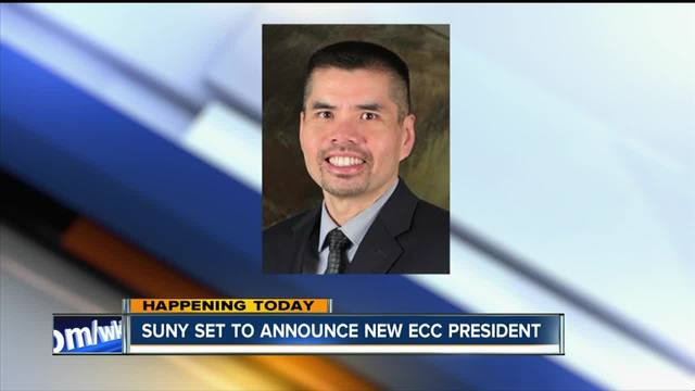 SUNY names ECC-s 11th president