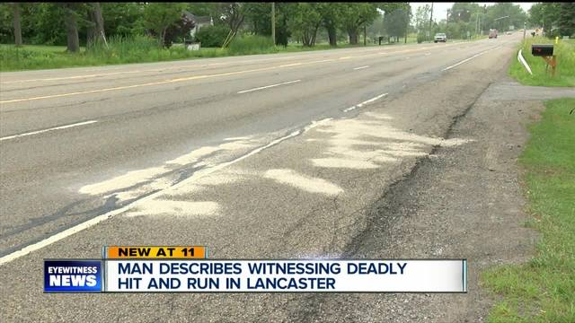 Man describes witnessing deadly hit and run in Lancaster