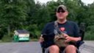 Man rides his wheelchair 422 miles
