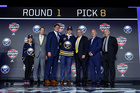 Sabres draft Casey Mittelstadt with 8th pick