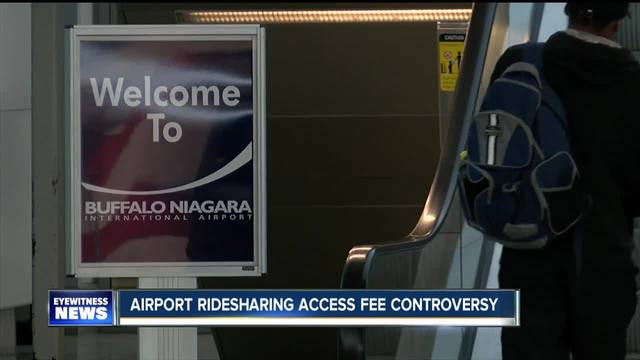 NFTA to tax ridesharing trips to Buffalo airport