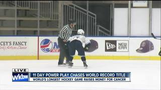Hockey game chases record title in Queen City