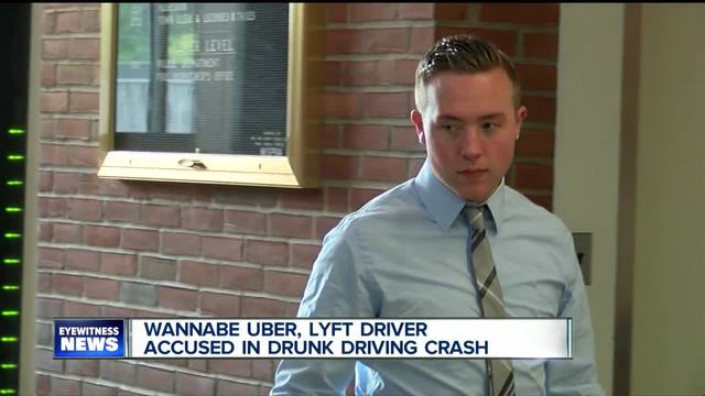 Wannabe Uber- Lyft driver accused in drunk driving crash
