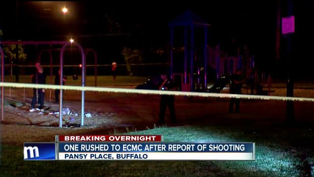 One person taken to ECMC after shooting at playground