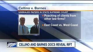 Cellino & Barnes court documents reveal bad rift