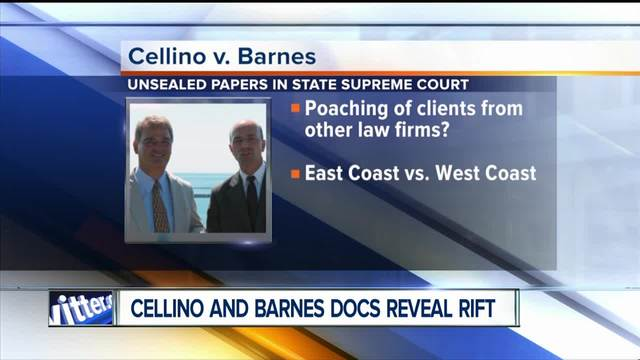 Cellino and Barnes court documents unsealed