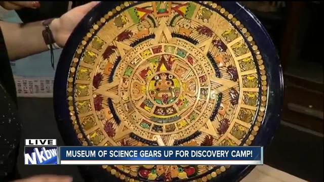 Discovery Camps get kids excited about summer and learning
