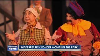 Shakespeare in Delaware Park's Wonder Women