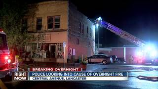 Four people forced from apartment after fire