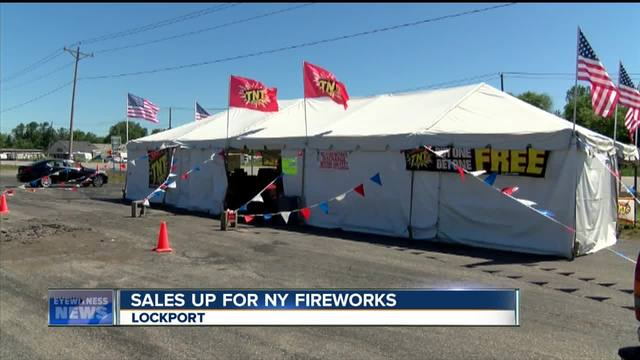 & Firework tent owners say business is booming - WKBW.com Buffalo NY