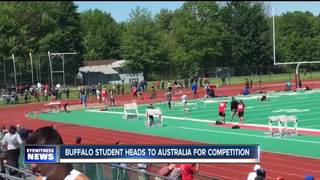 Olmsted student representing USA at track meet