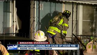Cheektowaga crews looking for cause of fire