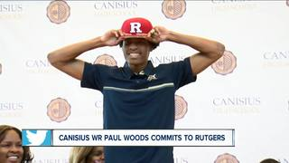 Paul Woods verbally commits to Rutgers