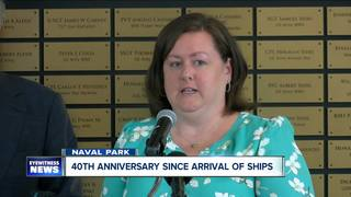 40th anniversary of Navy ships arrival in WNY