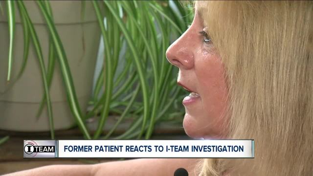 Pignataro-s former patient reacts to I-Team investigation