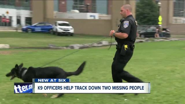 Erie County Sheriff-s K9 Teams Find Two Missing People