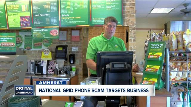 Amherst business confronts phone scammers