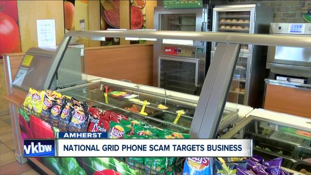 Phone scammers target businesses- Amherst restaurant owner doesn-t fall for it