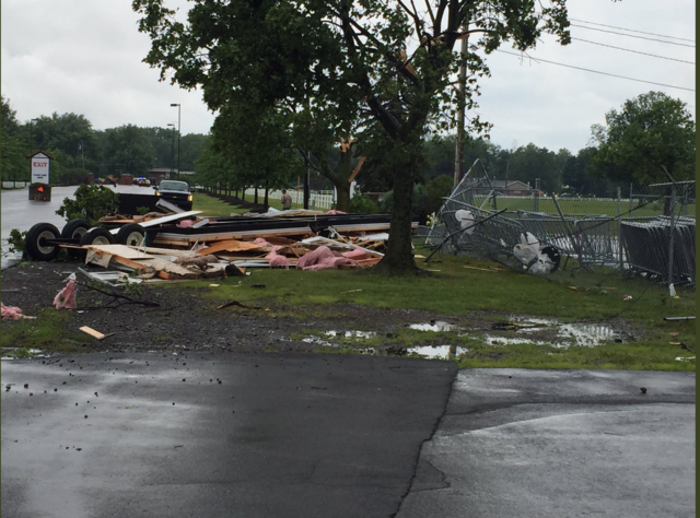 Two tornadoes confirmed Thursday afternoon near Buffalo
