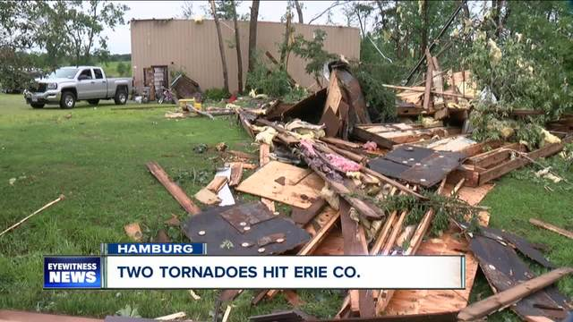 Two tornadoes hit Erie County