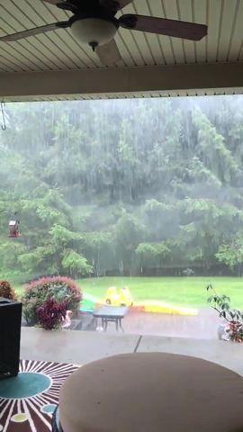 Heavy rain home