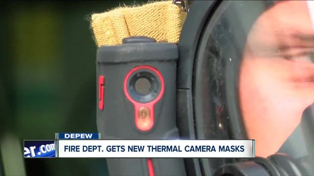 Depew Volunteer Fire Department gets new high-tech masks