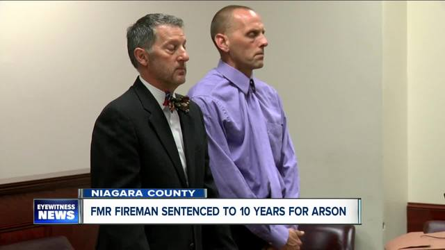 Man who set firefighter-s home on fire gets 10 years in prison