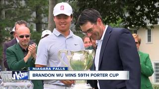 Stanford's Brandon Wu wins the Porter Cup