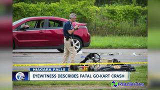 Witness describes fatal go-kart crash