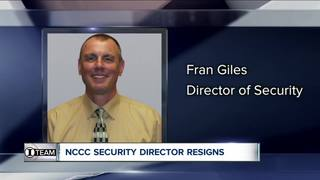I-Team: NCCC security director resigns