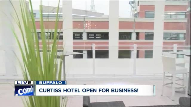 Curtiss Hotel offers a stylish view of WNY