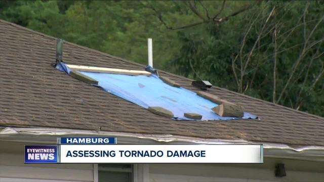 Will insurance pay for tornado losses in Hamburg-