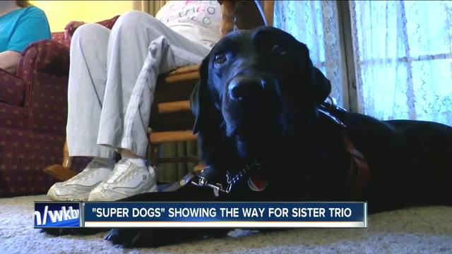 -Super Dogs- make a difference for trio of sisters