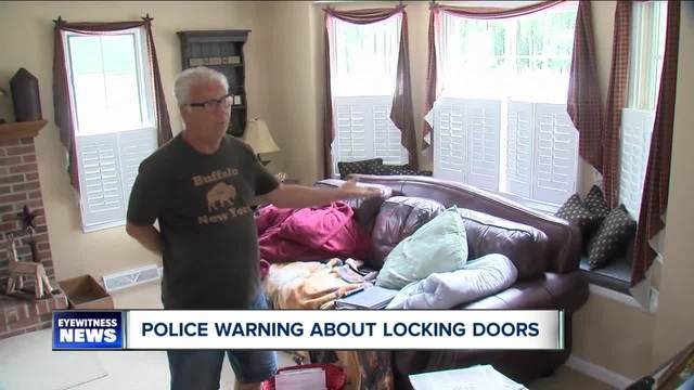 Lancaster Police warn people to lock doors