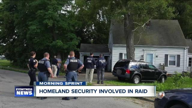 Homeland Security at Niagara Falls home