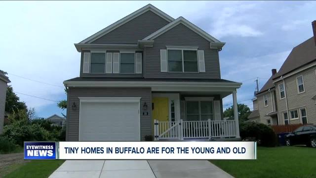 Tiny homes becoming popular in Buffalo