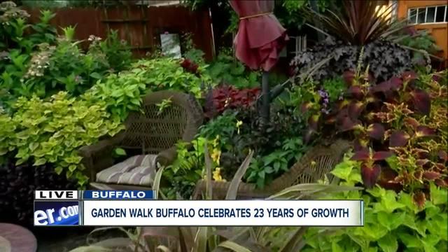 Gardeners show off their gardens for GardenWalk Buffalo