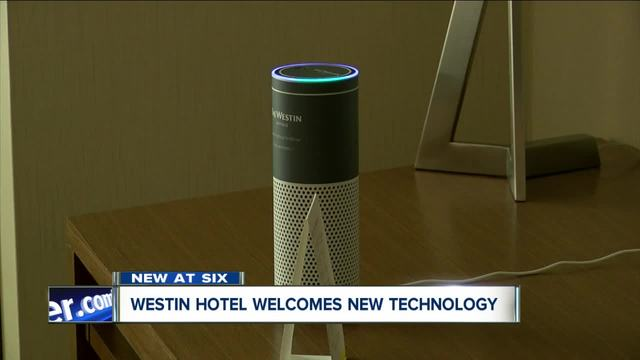 downtown westin 1st ny hotel to add amazon echos to rooms