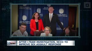 I-Team: NCCC to improve sex assault response