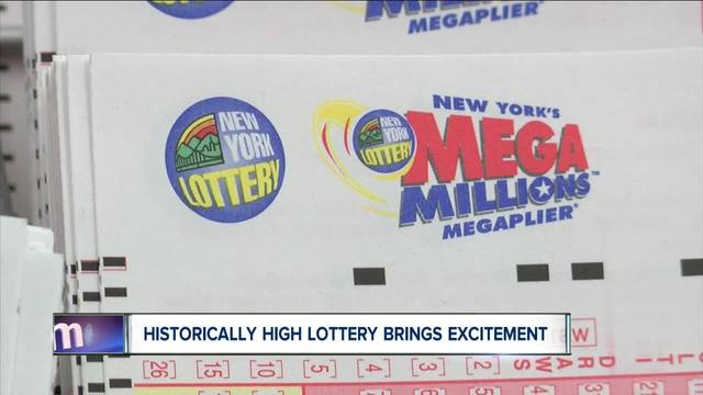 Mega Millions numbers drawn for $393 million jackpot